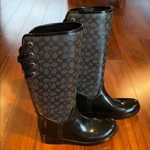Coach Insulated Rain Boots